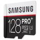 Samsung Micro SDXC PRO+ 128GB UHS-I U3 + SD adaptér