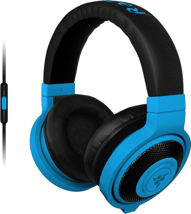 Razer Kraken Mobile Neon, modrá