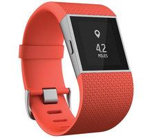 Fitbit Surge, L, oranžová - FB501TAL-EU