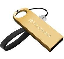 Transcend JetFlash 520G 16GB, zlatá - TS16GJF520G