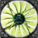AeroCool Shark Fan, 140 mm, evil green