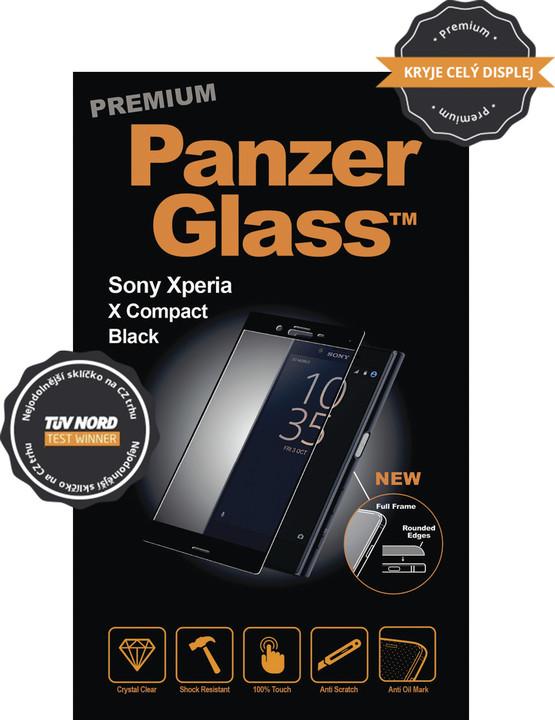 PanzerGlass Premium ochranné sklo pro Sony XPERIA X Compact - černá