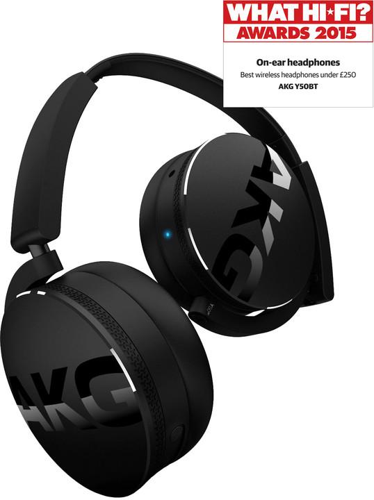 AKG Y50BT, černá
