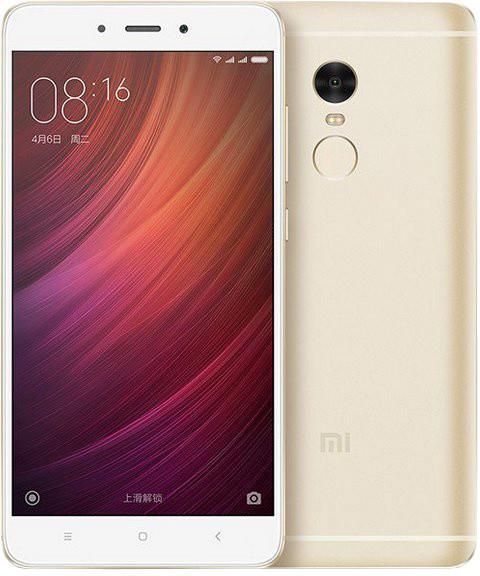 Xiaomi Redmi Note 4, CZ LTE - 32GB, zlatá