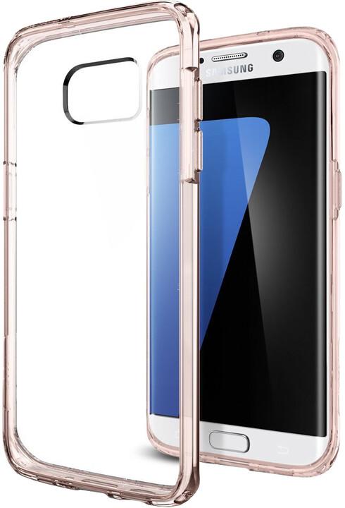 Spigen Ultra Hybrid, rose crystal - Gal S7 edge
