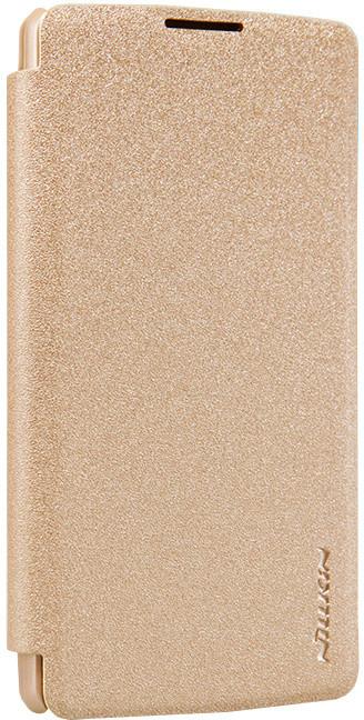 Nillkin Sparkle Folio pouzdro pro LG H340 Leon, zlatá