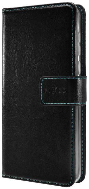 FIXED Opus pouzdro typu kniha pro Samsung Galaxy A3 (2017), černé