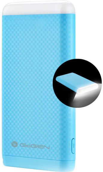 GoGEN 8000 mAh, svítilna, modrá