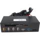 "ICY BOX přední panel IB-867-B, 5,25"", USB 3.0"