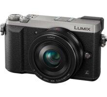 Panasonic Lumix DMC-GX80, stříbrná + 20 mm - DMC-GX80CEGS