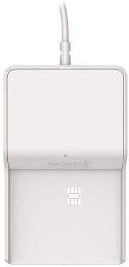 Cherry TC 1100 čtečka čipových karet, USB, bílá