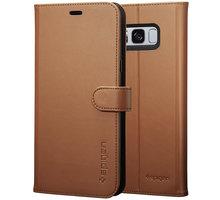 Spigen Wallet S pro Samsung Galaxy S8, brown - 565CS21636