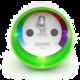 Fibaro spínaná zásuvka s měřením, 2,5 kW