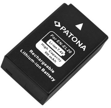 Patona baterie pro Nikon ENEL20 800mAh 7,2V Li-Ion
