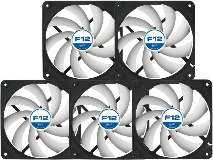 Arctic Fan F12 Value Pack