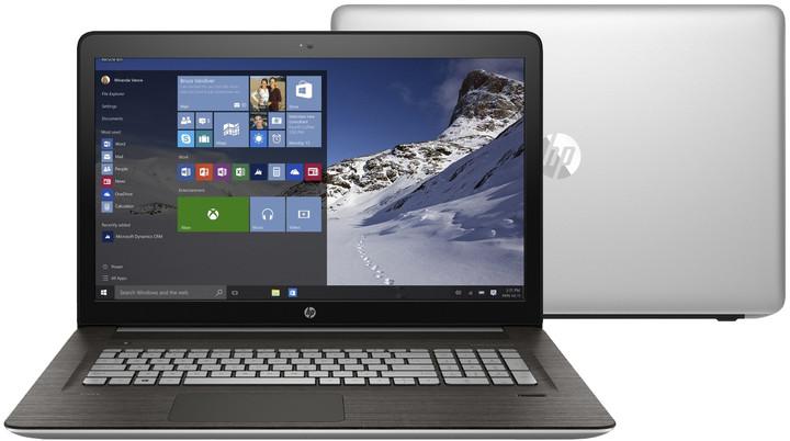 HP Envy 17 (17-r104nc), stříbrná