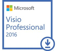 Microsoft Visio Professional 2016 - Licence - 1 PC - elektronicky - D87-07114