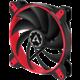 Arctic BioniX F140, eSport fan, červená - 140mm