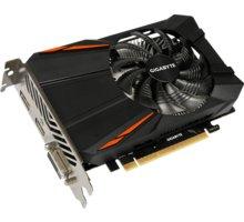 GIGABYTE GeForce GTX 1050 Ti D5 4G, 4GB GDDR5 - GV-N105TD5-4GD