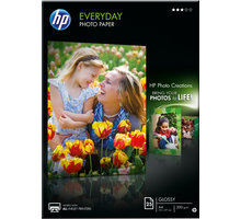 HP Foto papír EveryDay Photo Q5451A, A4, 25 ks, 200g/m2, pololesklý