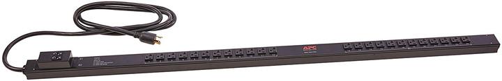 APC rack PDU, Zero U, 30A, 120V, (24) 5-20