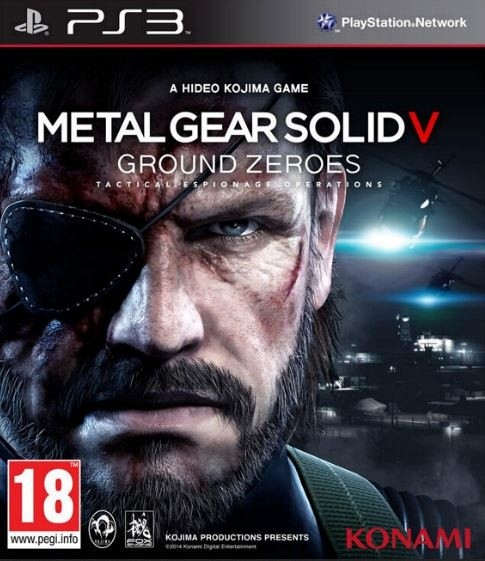Metal Gear Solid: Ground Zeroes - PS3