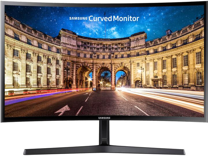 "Samsung C27F396 - LED monitor 27"""
