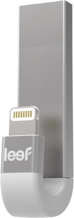 Leef iBridge 3 - 64GB, Lightning/USB 3.1, stříbrný