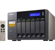 "QNAP TS-653A-8G + Samsung 850 EVO, 2.5"", 250GB, SATA III, Basic v hodnotě 1.990,- zdarma ke QNAP + Acronis True Image 2016 pro 3 PC zdarma ke QNAP"