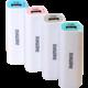 REMAX powerbank, 2600 mAh, bílá/růžová