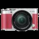 Fujifilm X-A3 + XC 16-50mm, stříbrná/růžová