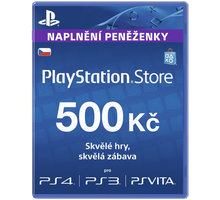 Playstation Network Card - 500 Kč - PS719894339