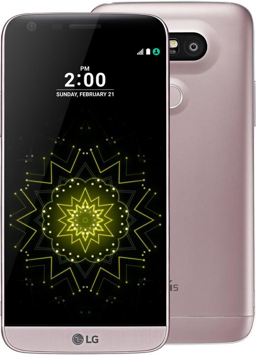 LG G5 (H850), růžová