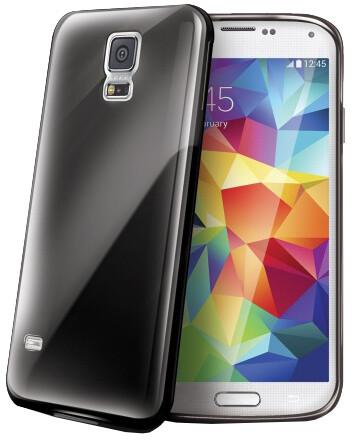 CELLY Gelskin pro Samsung Galaxy S5 mini, černá
