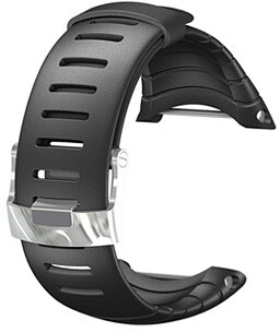 Suunto Core Standard strap, sada náramek+osičky, černá pryž