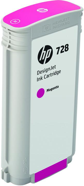 HP F9J66A no. 728 (130ml), magenta