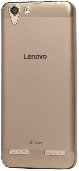EPICO pružný plastový kryt pro Lenovo K5 Plus RONNY GLOSS - černý transparentní