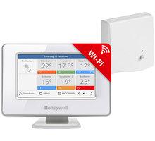 Honeywell Evohome Touch WiFi ATP921R3052, řídící jednotka s napájením + BDR91 Česká verze