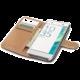 CELLY Wally pouzdro typu kniha pro Sony Xperia XA, PU kůže, černá
