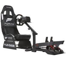 Závodní sedačka Playseat Forza Motorsport + volant Thrustmaster Ferrari 458 Spider - RFM.00058TM458