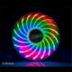 Akasa Vegas 7, 120mm, 7 barev podsvícení