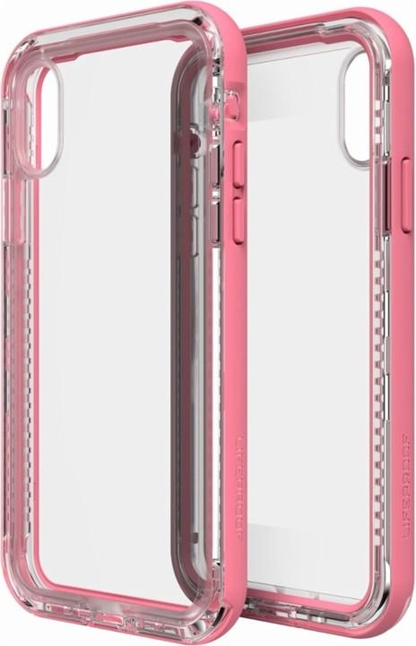 LifeProof Next ochranné pouzdro pro iPhone X průhledné - růžové