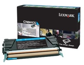 Lexmark C748H1CG, cyan, return