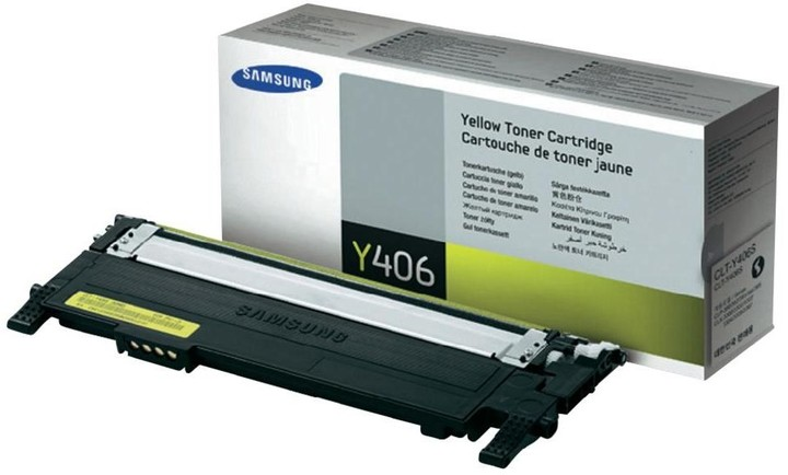 Samsung CLT-Y406S, žlutý