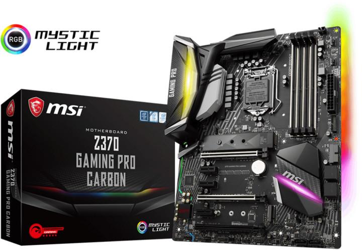 MSI Z370 GAMING PRO CARBON - Intel Z370