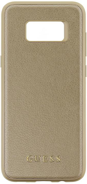 Guess Iridescent Hard Case pro Samsung G955 Galaxy S8 Plus, Gold