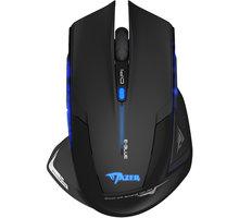 E-Blue Mazer-R - EMS152BK + Podložka pod myš CZC G-Vision Dark v ceně 199,-