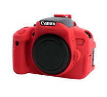 Easy Cover silikonový obal pro Canon 650D/700D, červená - ECC650DR