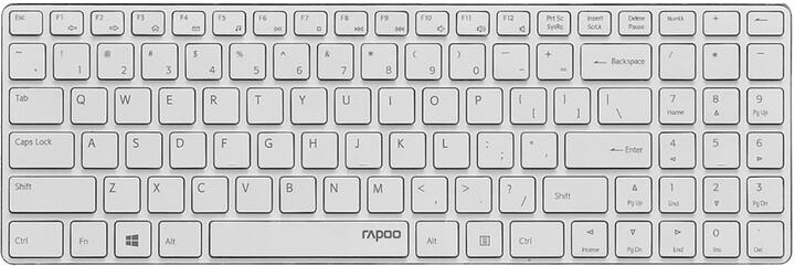 Rapoo E9100P, bílá