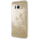 Guess Liquid Glitter Hard Case pro Samsung G950 Galaxy S8, Gold